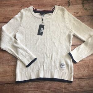 Tommy Hilfiger Cable Knit Women's Sweater NWT L